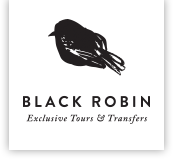 Black Robin Transport logo