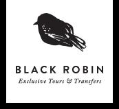Black Robin Transport logo
